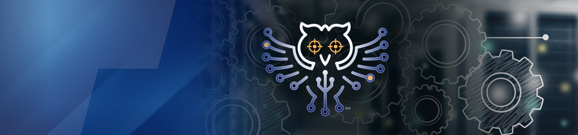 Technica Innovation owl on lab background